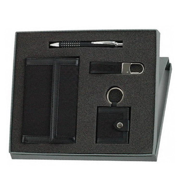 title='Luxury office stationery leather business gift set wholesale'