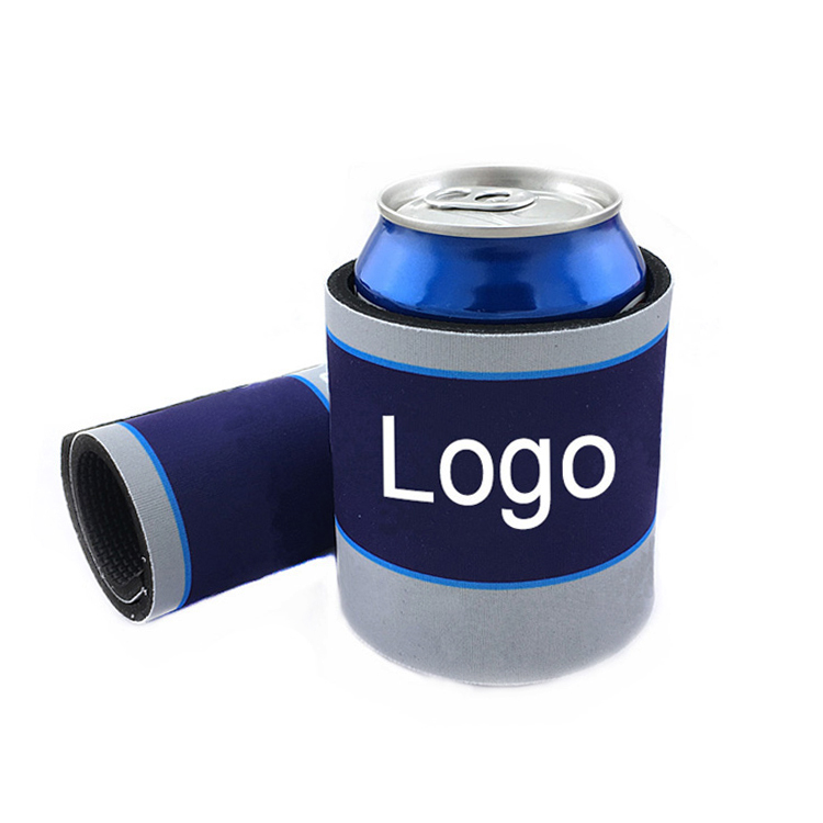 title='Personalized design neoprene slap wrap can koozies beer can cooler'